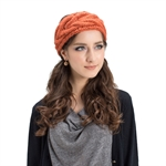 Veni Masee® New Women Wool Bow Keep Warm Hats Ladies Caps