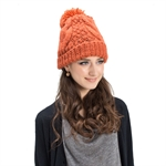Veni Masee® New Women Wool Ball Keep Warm Hats Ladies Caps