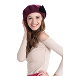 Veni Masee® New Women Autumn & Winter Elegant Wool Berets Ladies Hats