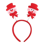 VENI MASEE® Lovely Springy Snowman Headband, Christmas Gifts, Gift Ideas
