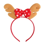 VENI MASEE® Lovely Antlers Bow Headband, Christmas Gifts, Gift Ideas