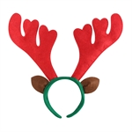 VENI MASEE® Big Red Antlers Headband, Christmas Gifts, Gift Ideas