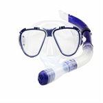 Aryca HydroSneak Premium Swimming Mask & Snorkel Set