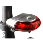INBIKE Bicycle Cycle 5 LED Red Rear Tail Light Lamp (Price/Piece)