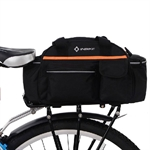 INBIKE Expandable Bicycle Pannier Saddle Bag with Raincover