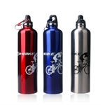 INBIKE 700ML METAL SPORTS WATER/DRINK BOTTLE, 3 Colors To Choose (Price/Piece)