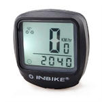 INBIKE Bike Computer Speedo Odometer Average Speed Maximum Speed Cycle Bicycle, 2 Colors To Choose (Price/Piece)