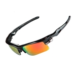H:oter® Polarized UV Protection Sports Sunglasses with 5 Interchangeable Lenses