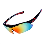 H:oter® Polarized Cycling Sun Glasses Cool with Exchangeable 5 Lens