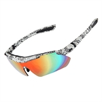 H:oter® Polarized Cycling Sun Glasses Outdoor Sports Bicycle Sunglasses  Cool with Exchangeable 5 Lens