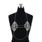 VENI MASEE Women Fashion Sexy Body Chain Jewelry Bikini Accessories for Beach/Party-Golden&Silver