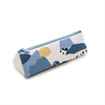 Fresh Look Creative Forest Pen Bag Student High-capacity Canvas Stationary Holder