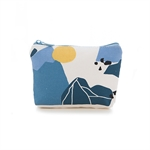 Fresh Look Creative Forest Pocket Money Key Storage Bag Wallet Student Little Canvas Organizer