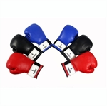KANGRUI Velcro Pro Style Boxing Training Gloves, 8oz