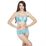 VENIMASEE® Womens Side Support Adjustable Plunge Push Up Everyday Bra,  knickers Premiums