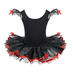 Hoter® Black Swan One Piece Flower Sequined Design Ballet Tutu Dress (Size 4-8), Price/Piece