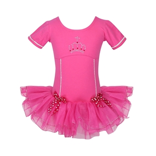 Hoter® Sweet Hotpink Ballet Tutu Dress Lovely Bowknot Design (Only Size 7), Price/Piece