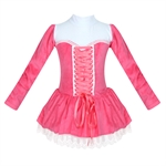 Hoter® Winter Red/Hotpink/Blue Plush Bonds Design Tutu Dress, For Size 4-8 Girls, Price/Piece