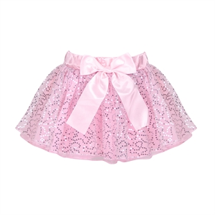 Hoter® Size 5/8 Girls Pure Pink Sequined Multi-layered Ballet Tutu Skirt, Price/Piece