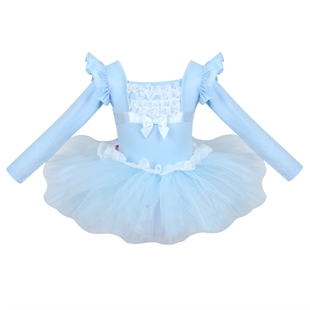 Gift Idea! Hoter® Princess Design Long-sleeved Ballet Tutu Dress, Size 4-10, Price/Piece