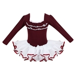 Gift Idea! Hoter® Gorgeous Princess Design Long-sleeved Ballet Tutu Dress, Girls Size 4-10, Price/Piece