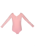 Gift Idea! Hoter® Size 3-10 Girls Long Sleeved Leotard(Purple/Pink), Price/Piece