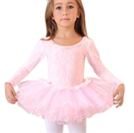 Gift Idea! Hoter® Lace Covered Pink Ballet Tutu Dress, Size 4-8, Price/Piece