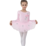 Gift Idea! VENI MASEE Princess Design Long-sleeved Ballet Tutu Dress, Size 4-8, Price/Piece