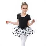 Gift Idea! Princess Design Short-sleeved Ballet Tutu Dress, Size 4-8, Price/Piece