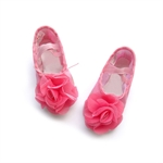 Gift Idea! Hoter® Girls Gymnastic/Ballet Cute Girls Soft Canvas Shoes, Junior Size 10/13.5/2,Youth Size 2.5-4.5, Price/Pair