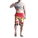 H:oter SunnyBoy Men's Summer Hawii Leisure Quick Drying Swim Beach Shorts