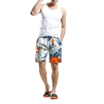 H:oter SunnyBoy New Men's Flour Printing Quick Drying Swim Beach Shorts