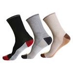 VENI MASEE Men's CoolMax All Sport Crew Socks (Price/Pair)