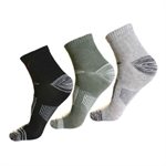 VENI MASEE Men's CoolMax Comfort Crew Walking Socks (Price/Pair)