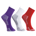 VENI MASEE Women's CoolMax Comfort Crew Walking Socks (Price/Pair)