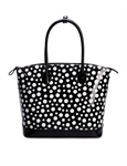 Women & Girls Elegance Wave Point Tote Handbag Shoulder Handbag Purse Bag, Gift Ideas
