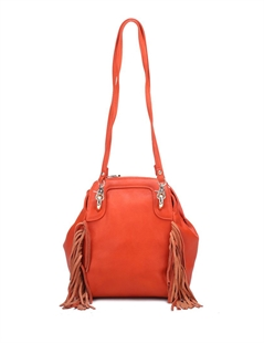 Women & Girls Elegance PU Faux Leather Tassel Shoulders Backpack Handbag Purse Bag, Gift Ideas
