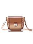 Women & Girls Elegance PU Faux Leather Jelly Bags Shoulder Handbag Purse Bag, Gift Ideas