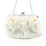VENI MASEE Flower-Shape Prom & Party Evening Handbag, Clutch Bag, Gift Ideas--Colors Various, Price/Piece