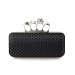 VENI MASEE Women & Girls Elegance Prom & Party Evening Handbag With Crystal Magic Ring Handle, Clutch Bag, Gift Ideas--Colors Various, Price/Piece