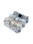 VENI MASEE Stylish Pearl Bead-hand-knit Prom & Party Evening Handbag,Hard box bag, Clutch Bag, Gift Ideas--Colors Various, Price/Piece