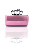 VENI MASEE Women & Girls Skull Knuckle Clutch Duster Hard Box Party Evening Bag, Clutch Bag, Gift Ideas--Colors Various, Price/Piece