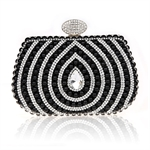 Women Elegance Crystal Prom & Party Evening Handbag, Clutch Bag, Gift Ideas--Colors Various, Price/Piece