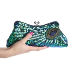 Vogue Simple Party Clutch Bag, Prom Evening Handbag, Gift Ideas--Colors Various, Price/Piece