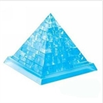 3D Jigsaw Puzzle, Cube Crystal Puzzle - Pyramid, 2 Colors, Gift Ideas