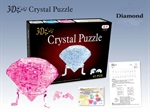 3D Jigsaw Puzzle, Cube Crystal Puzzle - Diamond, 3 Colors, Gift Ideas