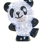 3D Jigsaw Puzzle, Cube Crystal Puzzle - Lovely Chinese Panda,Gift Ideas