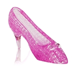 3D Jigsaw Puzzle, Cube Crystal Puzzle - The Crystal Shoe, 2 Colors, Gift Ideas