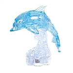 3D Jigsaw Puzzle, Cube Crystal Puzzle - The Dolphin, 2 Colors, Gift Ideas