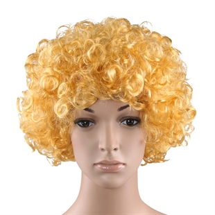 VENI MASEE® Curly afro wig,costume wig,clown wig,assorted colour